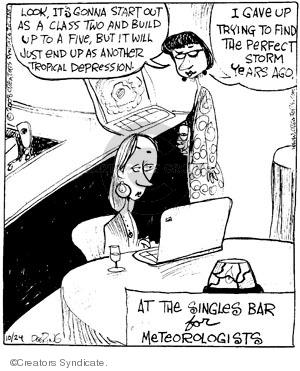 Comic Strip John Deering  Strange Brew 2008-10-24 out