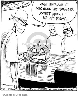 Comic Strip John Deering  Strange Brew 2008-10-31 Halloween