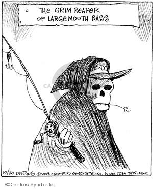 Comic Strip John Deering  Strange Brew 2008-10-30 angler