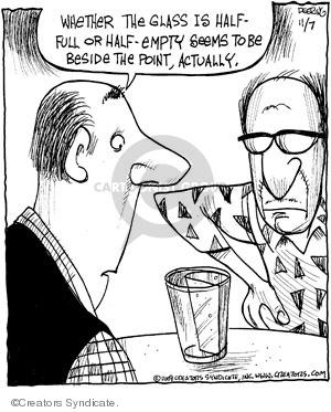 Comic Strip John Deering  Strange Brew 2008-11-07 science