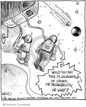 Comic Strip John Deering  Strange Brew 2008-11-08 example
