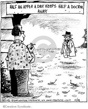 Comic Strip John Deering  Strange Brew 2008-11-12 food health