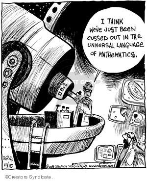 Comic Strip John Deering  Strange Brew 2008-11-15 out
