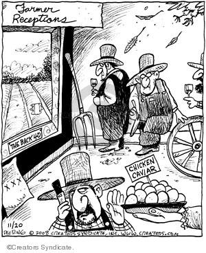Cartoonist John Deering  Strange Brew 2008-11-20 party