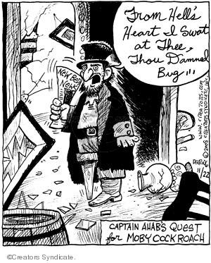 Comic Strip John Deering  Strange Brew 2008-11-22 bed
