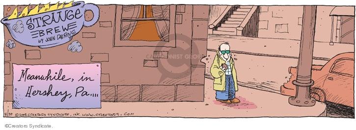 Comic Strip John Deering  Strange Brew 2008-11-30 food manufacturing