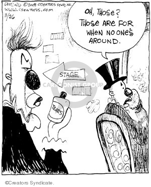 Comic Strip John Deering  Strange Brew 2008-11-26 John