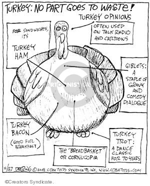 Cartoonist John Deering  Strange Brew 2008-11-27 classics