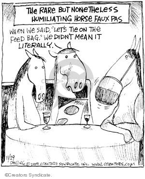 Comic Strip John Deering  Strange Brew 2008-11-29 out
