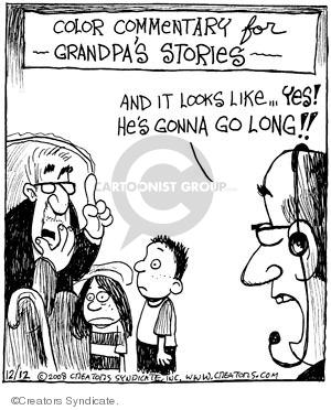 Comic Strip John Deering  Strange Brew 2008-12-12 grandparent
