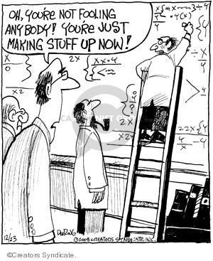 Comic Strip John Deering  Strange Brew 2008-12-23 math