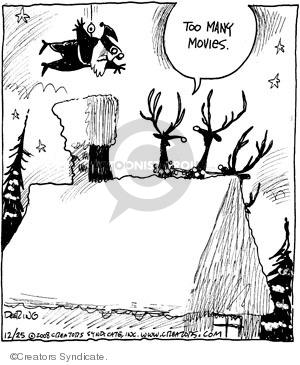 Cartoonist John Deering  Strange Brew 2008-12-25 traditional