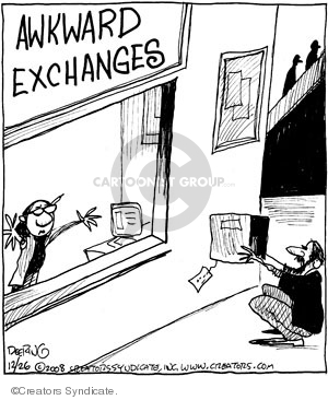 Comic Strip John Deering  Strange Brew 2008-12-26 strange