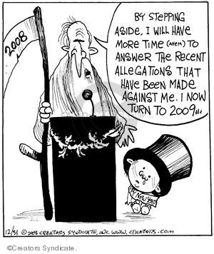Comic Strip John Deering  Strange Brew 2008-12-31 aside