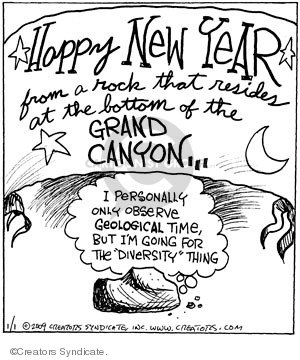 Comic Strip John Deering  Strange Brew 2009-01-01 earth