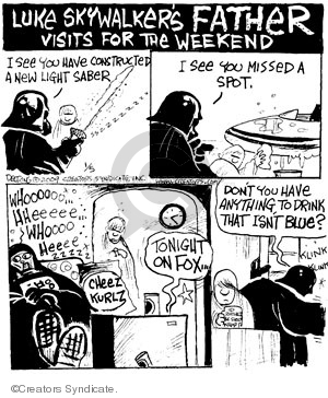 Comic Strip John Deering  Strange Brew 2009-01-05 science fiction movie