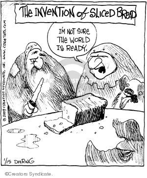Comic Strip John Deering  Strange Brew 2009-01-15 bread
