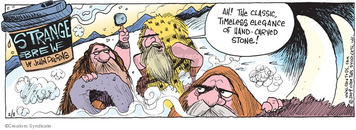 Comic Strip John Deering  Strange Brew 2009-02-08 classic rock