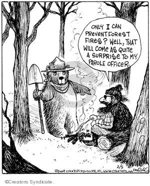 Comic Strip John Deering  Strange Brew 2009-02-05 surprise