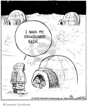 Comic Strip John Deering  Strange Brew 2009-02-06 strange