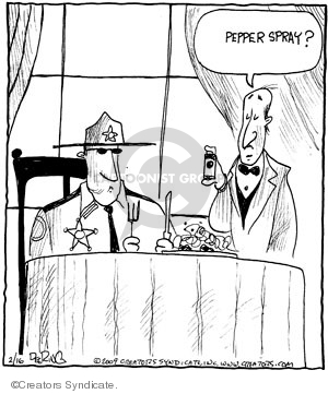 Comic Strip John Deering  Strange Brew 2009-02-16 out