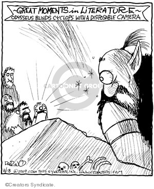 Comic Strip John Deering  Strange Brew 2009-02-18 strange