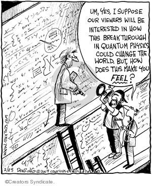 Comic Strip John Deering  Strange Brew 2009-02-23 emotion