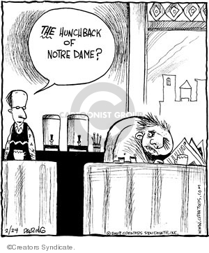 Comic Strip John Deering  Strange Brew 2009-02-24 movie