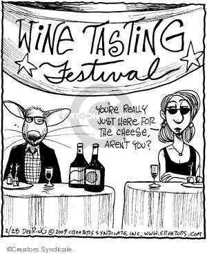 Comic Strip John Deering  Strange Brew 2009-02-28 beverage