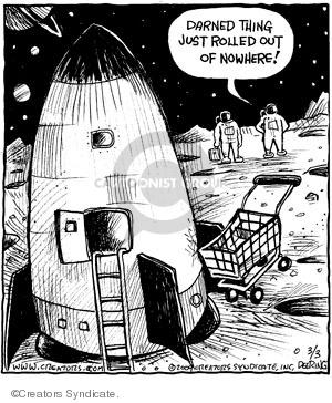 Comic Strip John Deering  Strange Brew 2009-03-03 out