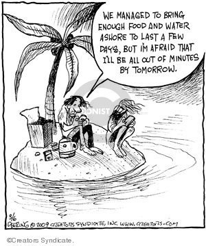 Comic Strip John Deering  Strange Brew 2009-03-06 out