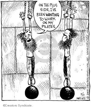 Comic Strip John Deering  Strange Brew 2009-03-11 pilates