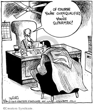 Comic Strip John Deering  Strange Brew 2009-03-16 qualification