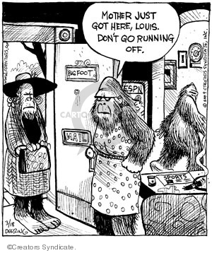 Comic Strip John Deering  Strange Brew 2009-03-18 here