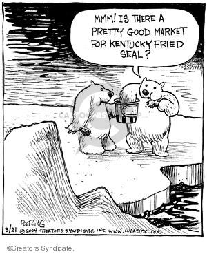 Cartoonist John Deering  Strange Brew 2009-03-21 food supply