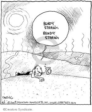 Comic Strip John Deering  Strange Brew 2009-04-01 brew