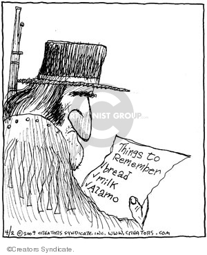 Comic Strip John Deering  Strange Brew 2009-04-02 bread