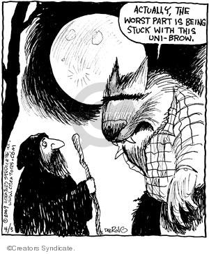 Comic Strip John Deering  Strange Brew 2009-04-03 part