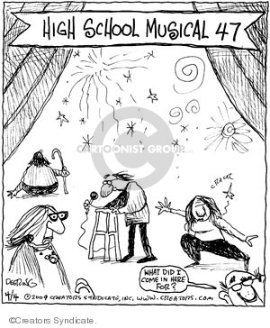 Comic Strip John Deering  Strange Brew 2009-04-04 school