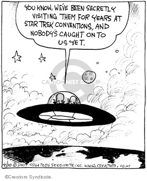 Comic Strip John Deering  Strange Brew 2009-04-10 convention