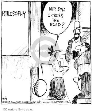 Cartoonist John Deering  Strange Brew 2009-04-18 classroom