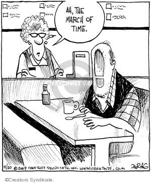 Comic Strip John Deering  Strange Brew 2009-04-20 change