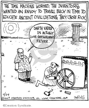 Comic Strip John Deering  Strange Brew 2009-04-24 travel
