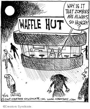 Comic Strip John Deering  Strange Brew 2009-04-25 behavior
