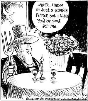 Comic Strip John Deering  Strange Brew 2009-05-02 think
