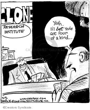 Comic Strip John Deering  Strange Brew 2009-05-05 card