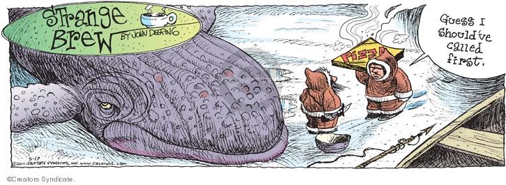 Comic Strip John Deering  Strange Brew 2009-05-17 food