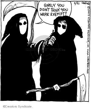 Comic Strip John Deering  Strange Brew 2009-05-21 John