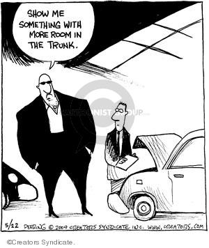 Cartoonist John Deering  Strange Brew 2009-05-22 killer