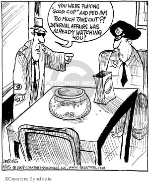 Comic Strip John Deering  Strange Brew 2009-05-25 fed